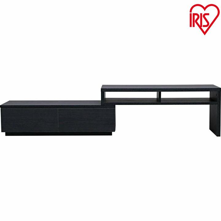 テレビ台 AVボード伸縮タイプ SAB-100 送料無料 TV台 TVボード AVボード TVボード かわいい 組み立て式 収納用品 収納用品 新生活応援 引っ越し 一人暮らし 新居 収納 ブラックオーク オフホワイト ウォールナット アイリス