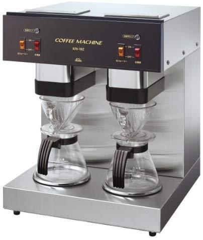 【送料無料】Kalita〔カリタ〕業務用コーヒーメーカー 珈琲〕【K】【TC】 KW-102〔ドリップマシン コーヒーマシン 4杯用