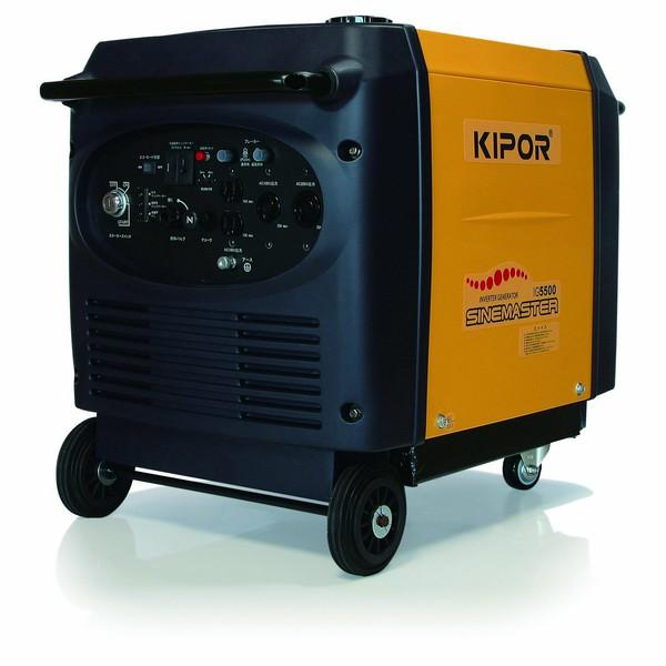 Kipor インバータ発電機 IG5500 5.5KVAインバータ発電機 インバーター 発電機 家庭用 防災グッズ 発電 アウトドア【D】【DA】