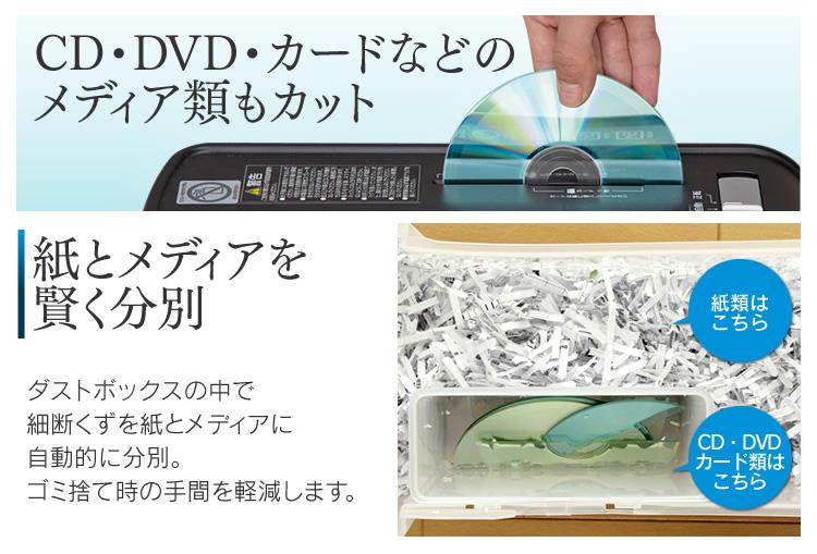 ポイント5倍♪(265円相当) シュレッダー 家庭用 電動 P6HC クロスカット シュレッダー A4用紙6枚裁断 細断 安心 安全 アイリスオーヤマ 軽量 スリム カード CD DVD コンパクト 引出し おしゃれ ゴミが一目瞭然 クリアダストボックス ホワイト ブルー