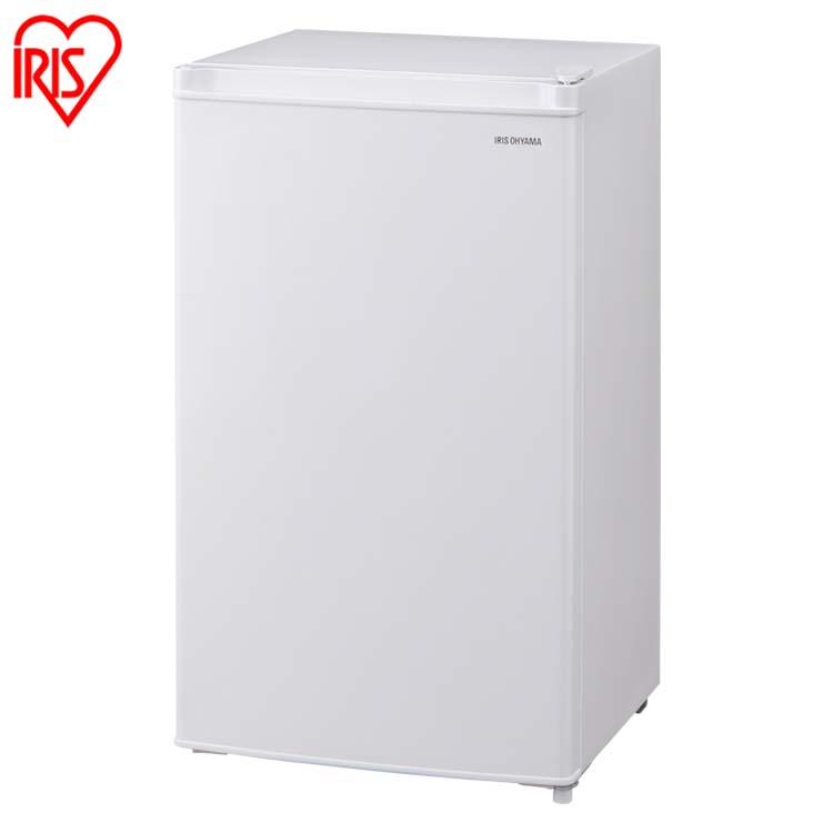冷蔵庫 ノンフロン冷蔵庫 75L ホワイト AF75-W 1ドア冷蔵庫 ノンフロン冷蔵庫 1ドア ホワイト 冷蔵庫 コンパクト アイリスオーヤマ [補]