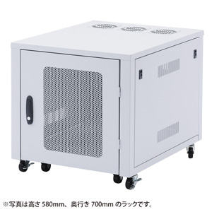 【代金引換不可】置き型用サーバーラック CP-SVBOX2N【サンワサプライ】【TD】