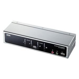 パソコン自動切替器(4:1) SW-KVM4HVCN【TD】【代引不可】【サンワサプライ】05P18Jun16