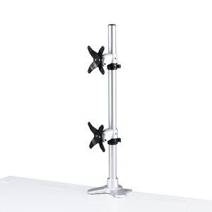 水平垂直液晶モニターアーム(上下2面) CR-LA1009N【TD】【代引不可】【サンワサプライ】05P18Jun16