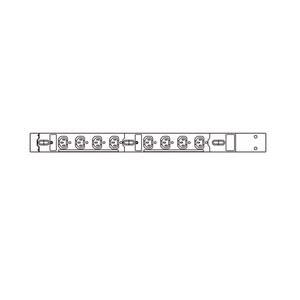 19インチサーバーラック用コンセント 200V(20A) 3P 8個口TAP-SV2208【サンワサプライ】【TD】【パソコン周辺機器】【代金引換不可】