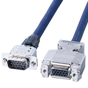 ディスプレイ延長複合同軸ケーブル 6mKB-CHD156FN【サンワサプライ】【TD】【パソコン周辺機器】【代金引換不可】