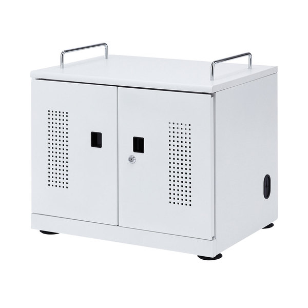 タブレット収納キャビネット(20台収納)【サンワサプライ】【TD】【代引不可】