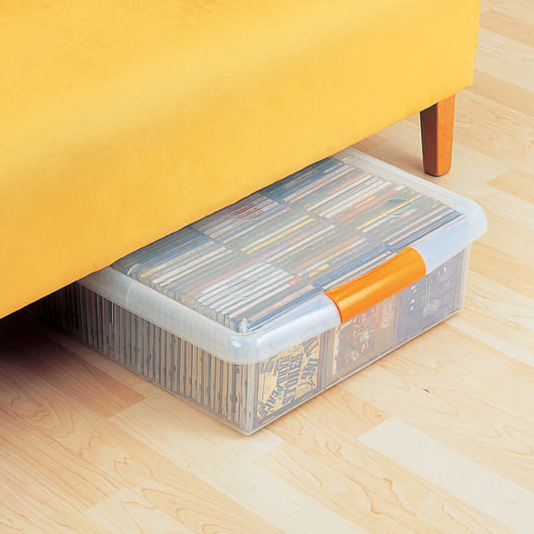 It Is A Slim Storage Box For Convenient Accessory Storage In Non Height  Space! ☆ Size That Can Be Used Under The Sofa, Closet, Etc.