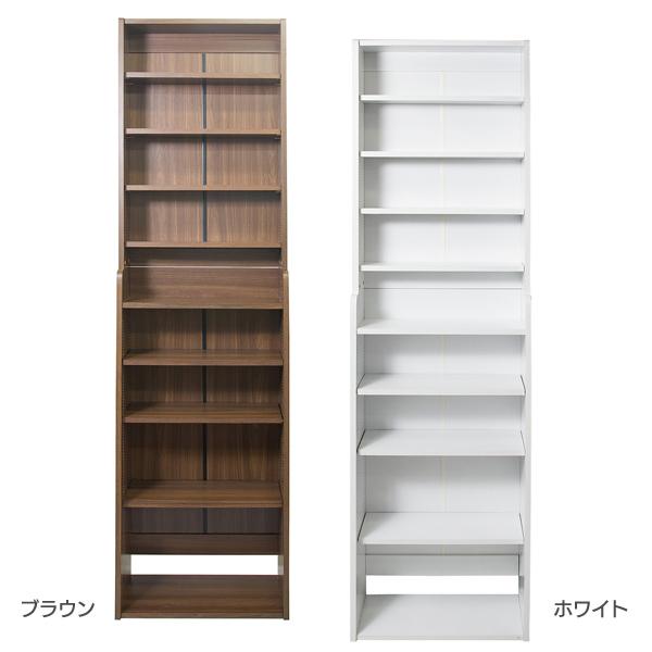 1cm Pace Bookshelf Width 58 RK 1058 BR Brown 05P18Jun16