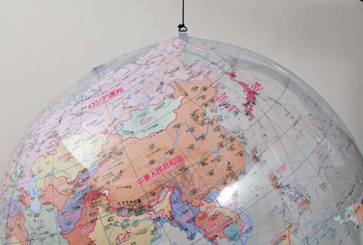 遊びながらお勉強! 地球儀 ビッグボール地球儀 地球儀ボール ビーチボール [0034010]【D】【HD】
