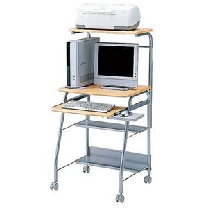 パソコンデスク HLN-60Nパソコンデスク 60cm幅 デスク 机【TD】【代引不可】【サンワサプライ】