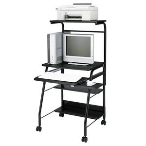 パソコンデスク HLN-60BKNパソコンデスク 60cm幅 デスク 机【TD】【代引不可】【サンワサプライ】