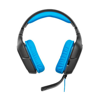サラウンド サウンド ゲーミング ヘッドセット ブラック・ブルー G430送料無料 ヘッドセット ヘッドフォン ゲーミング USB ゲーム パソコン ロジクール 【D】