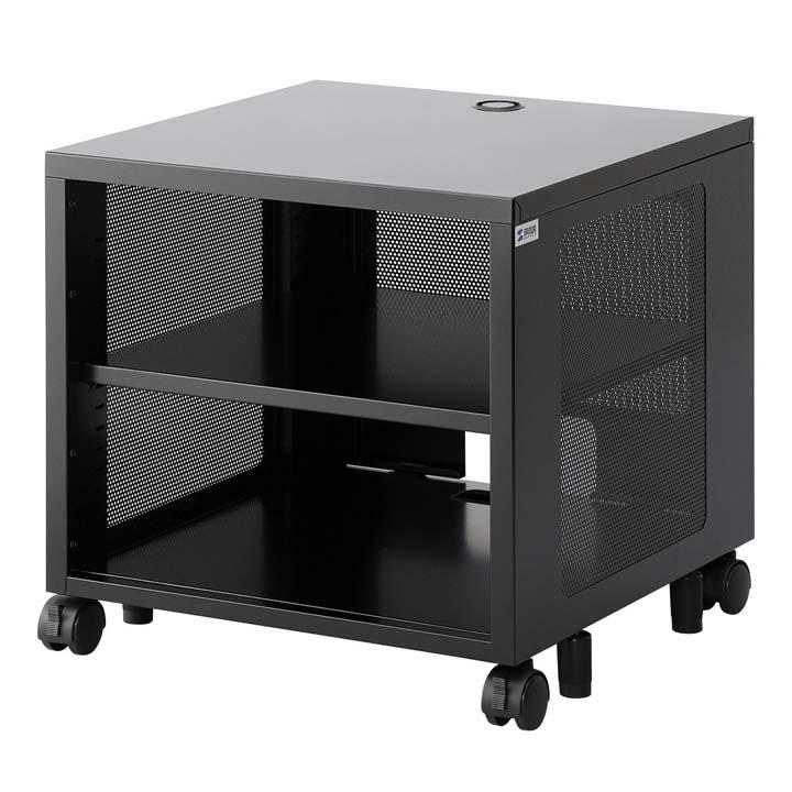 機器収納ボックス(H500) CP-SBOX1送料無料 デスク下 ラック 周辺機器 棚 ネットワーク機器 小型機器 AV機器 モニタアーム オフィス サンワサプライ 【TD】 【代引不可】