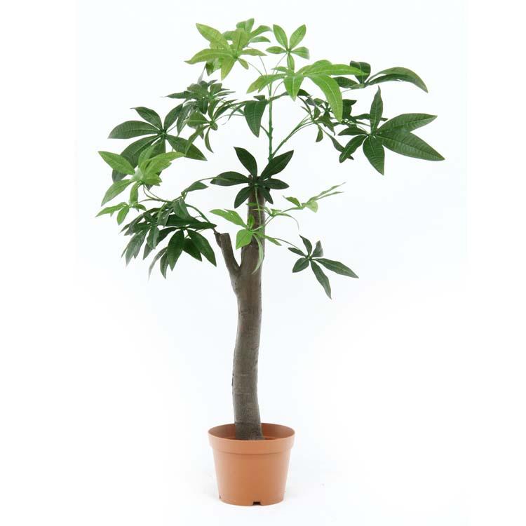 観葉植物 パキラ 朴の木タイプ GR 52665送料無料 フェイクグリーン 人工観賞植物 インテリア おしゃれ リビング 緑 お部屋 玄関 リビング お手入れ簡単 不二貿易 【D】
