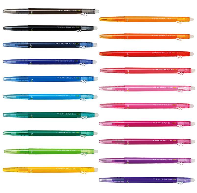 全20色をまとめてご購入される方はこちらからが便利です パイロット フリクションボールスリム 全色セット 0.38mm 商舗 フリクションスリム 全20色各1本ずつのセットです 通常便なら送料無料 LFBS18UF