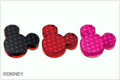 ブランド品 ミッキーマウスの形をしたかわいい印章ケース シャチハタ ディズニー印章ケースディズニーキャラクタースタンプシリーズ 百貨店