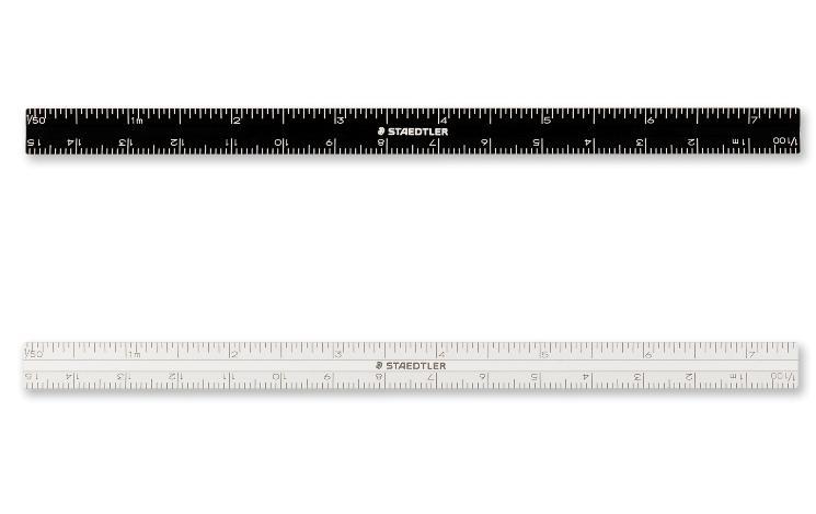 新色 アルミ削り出しの高精度15cm三角スケール高さ 超定番 深さ等の計測に便利な目盛り0スタート仕様目盛りはレーザー加工による誤差0.1mm以下の高精度です ステッドラー スリム三角スケールアルミ削り出し高精度 ゼロスタート