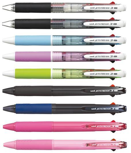 新油性インクで書き味なめらか さらに黒 赤 青の3色ボールペン 三菱鉛筆 ジェットストリーム3色ボールペン SXE3-400-07 出色 0.7mm マーケティング