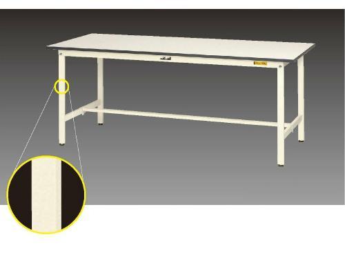[山金工業]ヤマキンワークテーブル150シリーズ座り作業に合う高さ740mmの作業台耐過重150kg【1800×900】
