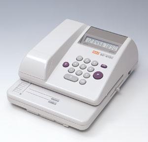 [マックス]電子チェックライター EC-610Cコードレスタイプ●桁数:10桁