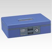 [カール]キャッシュボックス ブルー【CB-8400-B】