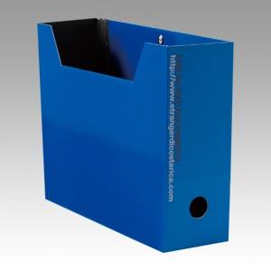 デスク周りのアクセントに イロイロ選べるカラフルボックス 正規激安 エトランジェ ディ 人気商品 ブルー コスタリカ SOLIDファイルボックスA4判ヨコ