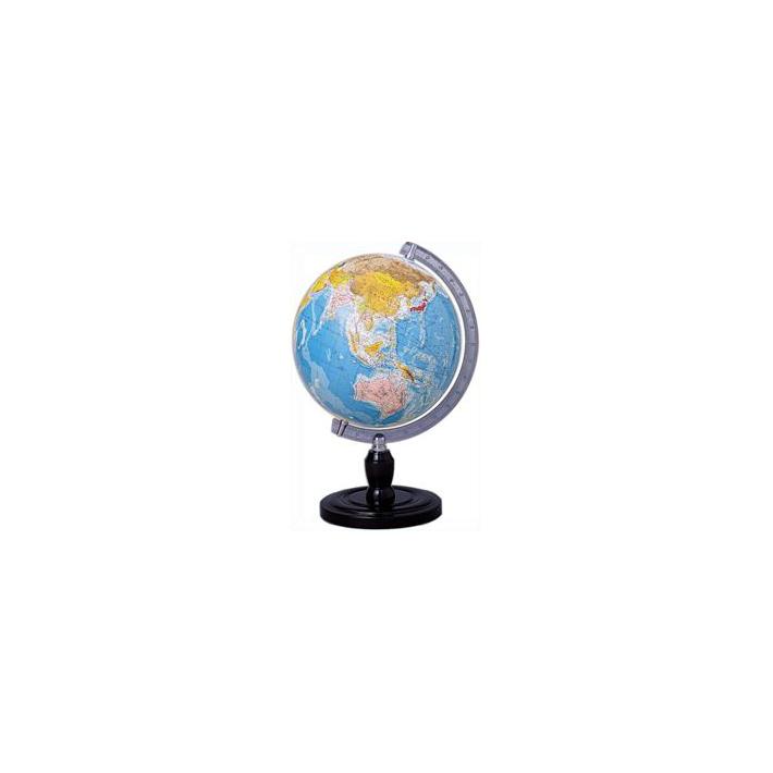 SATD(クツワ)ベーシック地球儀 行政図タイプGL301R[サイズ120][SEINO]