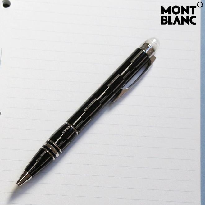 MONTBLANC モンブラン ボールペン スターウォーカー ブラックミステリー 104227BP-ysd