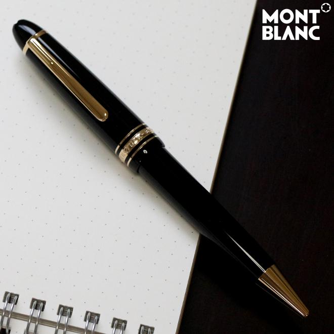 MONTBLANC モンブラン ボールペン マイスターシュテュック ル・グラン 161bkBP-ysd