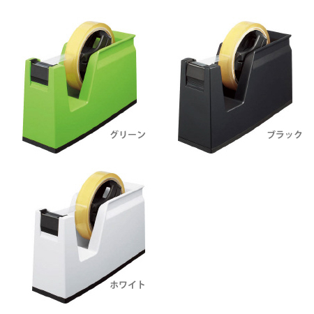 軽く切れて長く使えるテープカッター スーパーSALE セール期間限定 コクヨ テープカッター T-SM100-kok カルカット 年中無休 3カラー