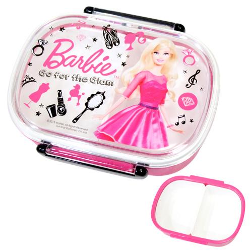 シブヤのみの限定販売 バービーのオシャレなランチグッズ Barbie バービー タイトランチボックス小判 お弁当箱 限定シリーズ PCR-7 当店一番人気 バービー新入学 日本製 20P30May15 SB-OL01-PK 格安