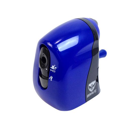 軽く回せる 手動鉛筆削り SONIC ソニック ブルー 人気ブランド SK-2473-B かるハーフ ブレイブ 買い取り
