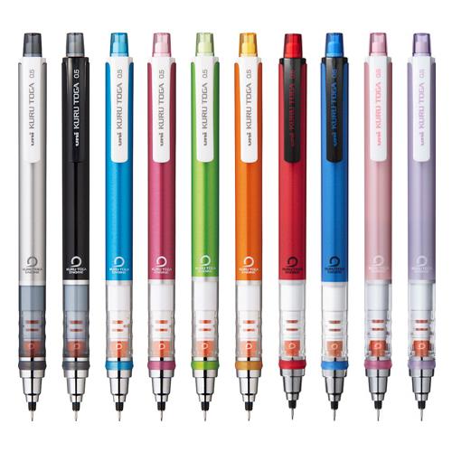 芯が回ってトガりつづける クルトガ 0.5mm シャープペンシル メーカー直売 シャーペン 10色 15 新作通販 1 M便