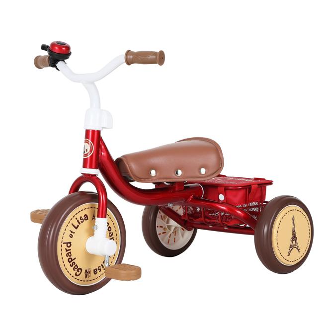 M&M<mimi> リサとガスパール 三輪車 <着脱式ペダル> 0218