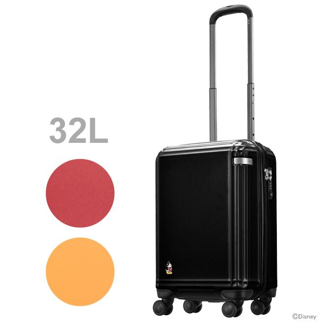 ACE ミッキーマウス スーツケース<キャリーケース> ラティスZ スタンディングミッキー 32L 3カラー 06111-ace 【disneyzone】