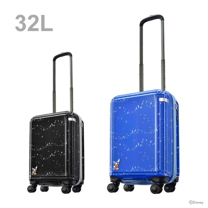 ace. ディズニー映画『ファンタジア』第二弾スーツケース 32L 2カラー 6104-ace 【disneyzone】