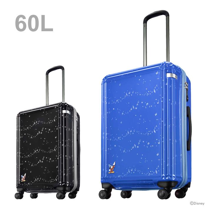 ace. ディズニー映画『ファンタジア』第二弾スーツケース 60L 2カラー 6105-ace 【disneyzone】