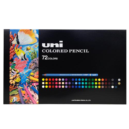 〔新製品〕三菱 色鉛筆 ユニカラー72色  ユニカラー72色 特別価格UC72C