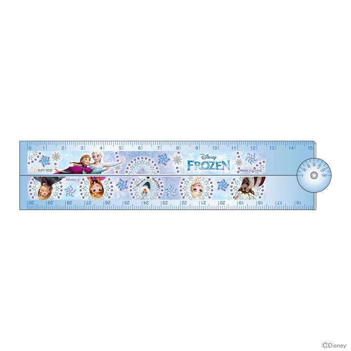 アナ雪 女の子 かわいい キャラクター 2019 disney 買物 ディズニー アナと雪の女王 新入学文具 折りたたみ定規 M便 15 disneyzone 1 数量は多 4901770563077
