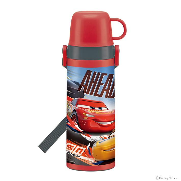 [半額以下]ディズニー カーズ<Cars> 2WAY中栓ステンレスボトル水筒 600ml stgc6n 【disneyzone】