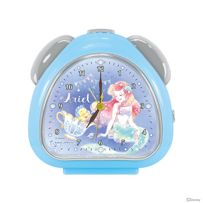 ディズニー・時計プリンセス アリエル さんかくクロック 52192 【disneyzone】