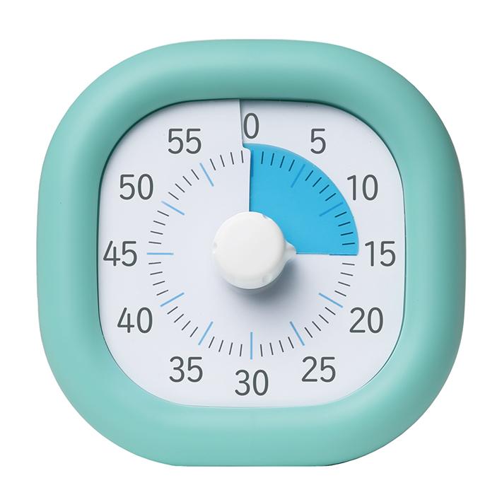 タイムタイマー 勉強 集中力アップ ソニック トキ・サポ 時っ感タイマー 10cm ミントブルー 新入学文具 LV-3062-MB
