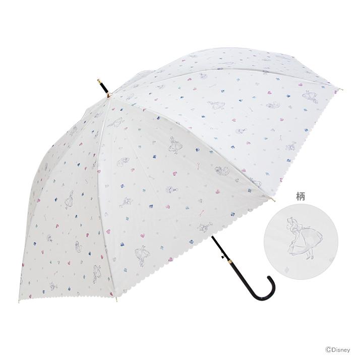 雨具 雨傘 おしゃれ かわいい disney ディズニー DN37657 60cm 爆買い送料無料 新作 人気 傘 アリス柄 disneyzone