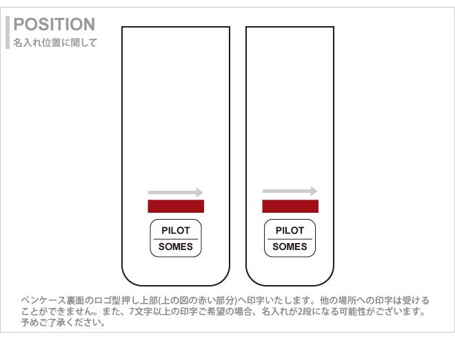 把PILOT×SOMES<飞行员×somesu>笔盒3枝差别<笔盒、笔盒、毛笔放进去>2彩色SLS3-01-plt