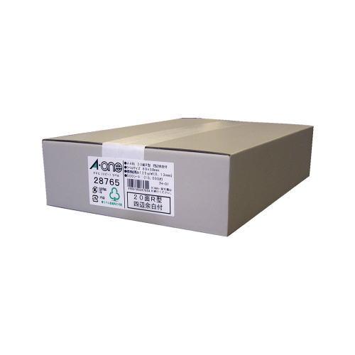 【送料無料】【エーワン】 PPC(コピー)ラベル 500枚入 規格:A4判20面R型 28765