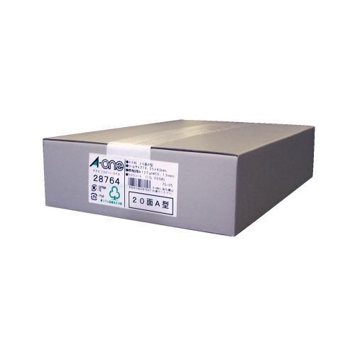 【送料無料】【エーワン】 PPC(コピー)ラベル 500枚入 規格:A4判20面A型 28764
