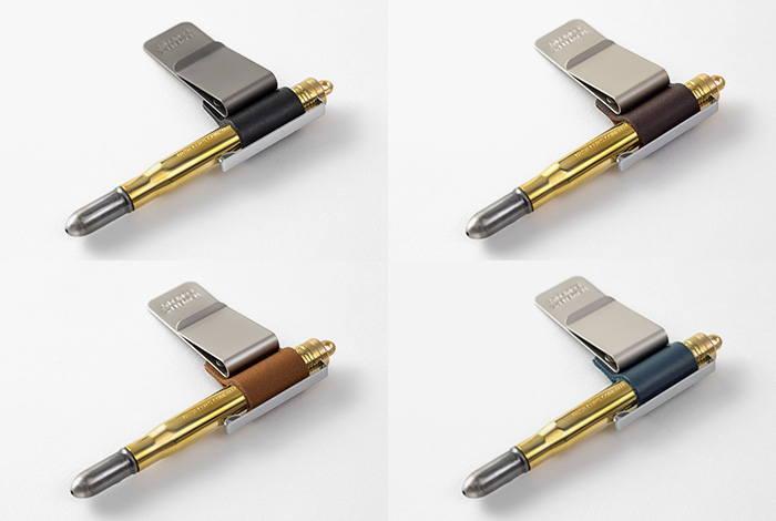 TRAVELER/'S Notebook Pen Holder M Blue 016 Midori Japan 14392006