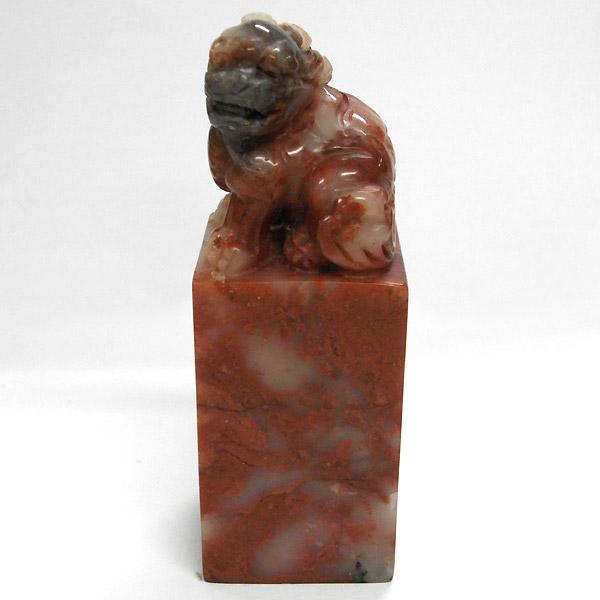寿山石3.5cm角/貔貅(ひきゅう)【印材】H1-1