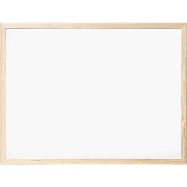 ミーティングや講義に最適 ナカバヤシ NEW 正規販売店 ウッドホワイトボード 620×470mm 自由に使用できる無地タイプ WBM-E6247 Nakabayashi